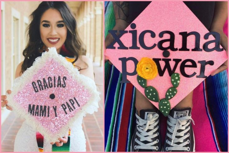 Check Out How These Latinas Are Clapping Back With The Designs On Their Graduation Caps