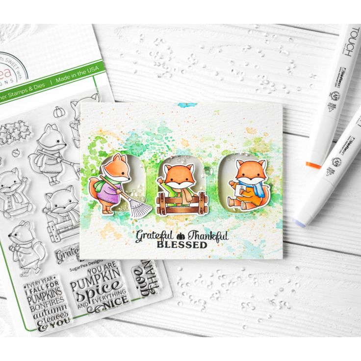 https://flic.kr/p/Ws15La   Grateful Thankful Blessed   I figured out the weather. It's not summer, it's autumn. That inspired me to create autumn card 😊 Actually, I wanted to attach the fox here, it's so cute 😍 And I dream about monkey to buy, it's cute too. Now I want to relax from interactive marathon, I'm tired of it. And this card is the most simple thing that I can do ♀️😆  #znatka2007 #znatka2007cards #ShinHanArt #touchmarker #touchtwinbrushmarkers #touchmarker #снежнобелоефото…
