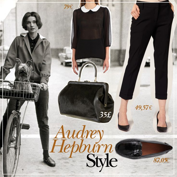Audrey Hepburn Style I Mademoiselle Stef I Blog Beauté, Mode, Coloriage, Lifestyle