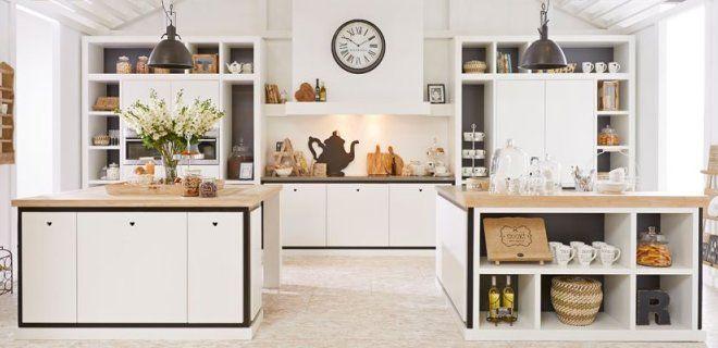 Landelijke keuken van Riverdale via Tieleman Keukens