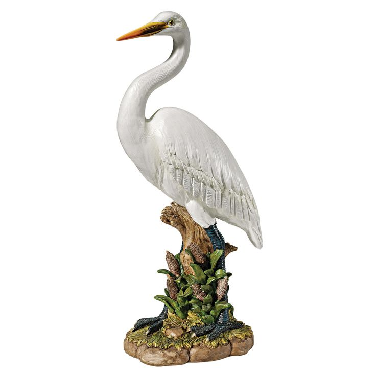 Great Egret Statue