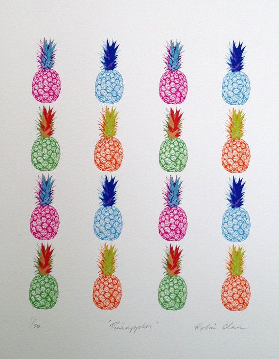 Pineapples Giclee Print (Limited Edition of 20)