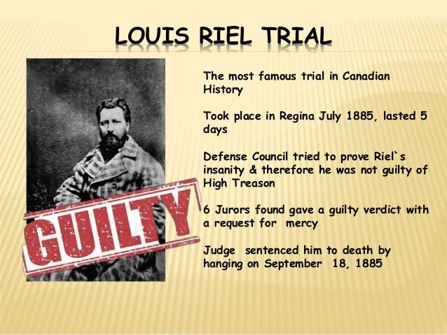 was louis riel a hero