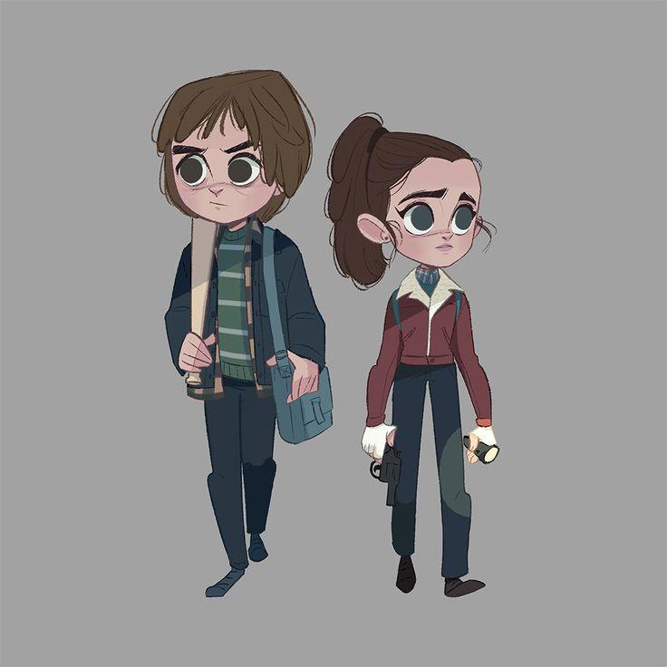 Steve and Nancy | Stranger Things