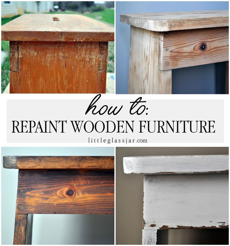 Repainting Old Wooden Furniture Part One Wooden Furniture And Painted Furniture