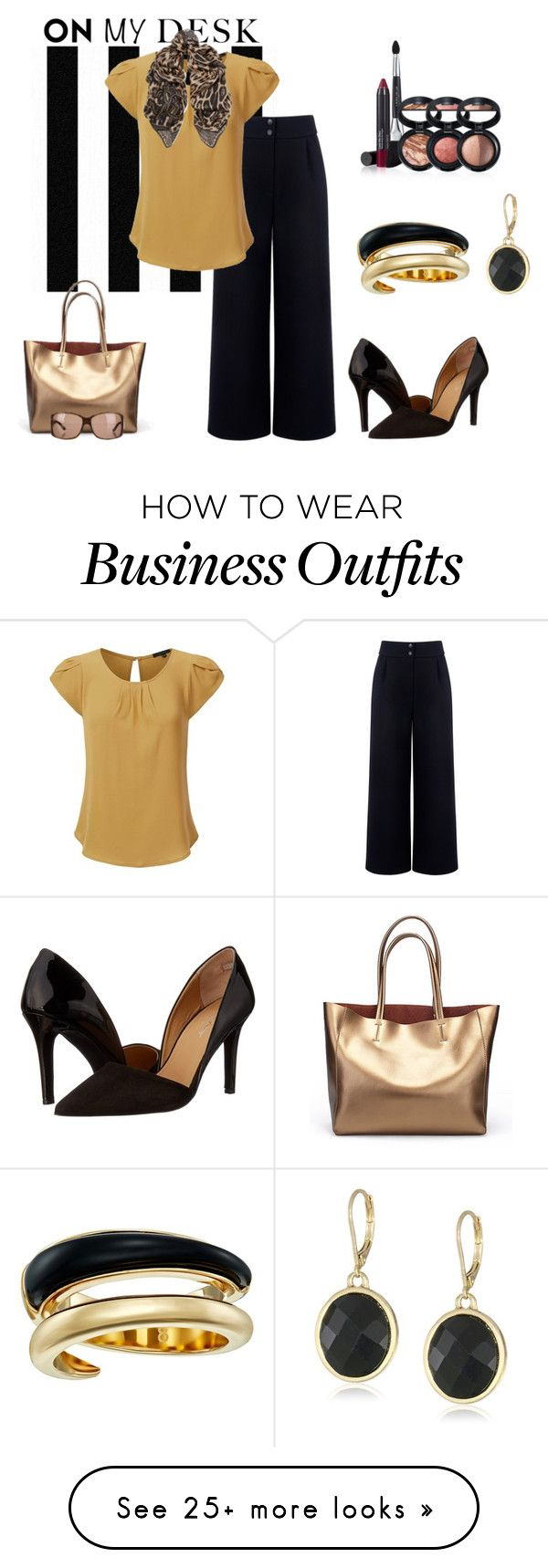 """""""WEAR TO WORK"""" by citas on Polyvore featuring Napier, Être Cécile, Laura Geller, Massimo Matteo, Roberto Cavalli, Tom Ford and Michael Kors"""