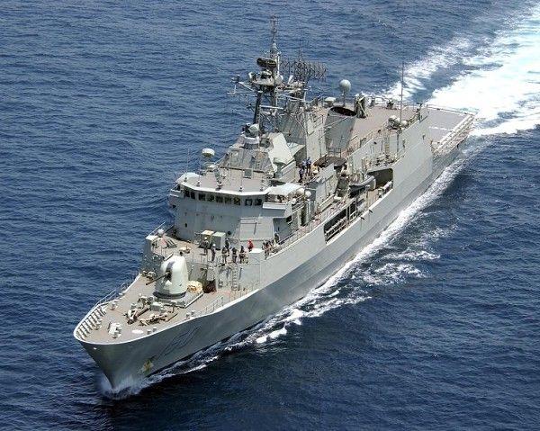Royal Australian Navy ANZAC-Class frigate.
