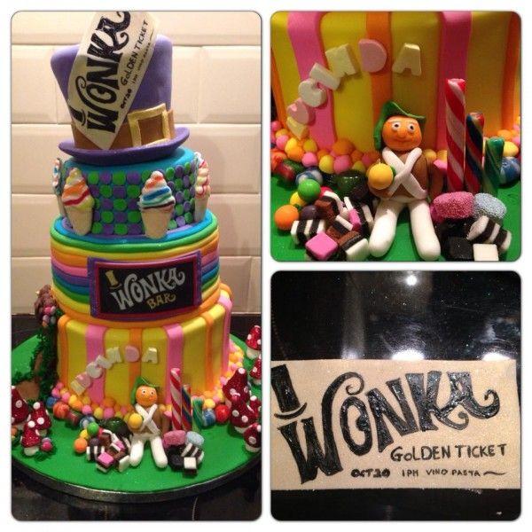 Willie Wonka Cake