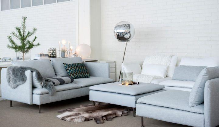 Klä ditt hem i elegant vinterskrud med överdrag från Bemz | Bemz