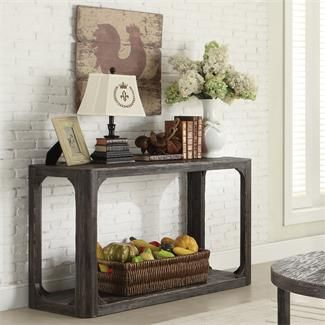 Bellagio Sofa Table I Riverside Furniture