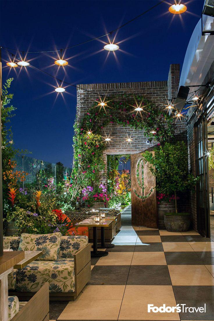 10 Best Celebrity Hangouts In Los Angeles Terrace Restaurant Los Angeles Restaurants La Restaurants