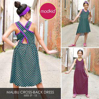 MALIBU Cross-Back Dress by MODKID   YouCanMakeThis.com