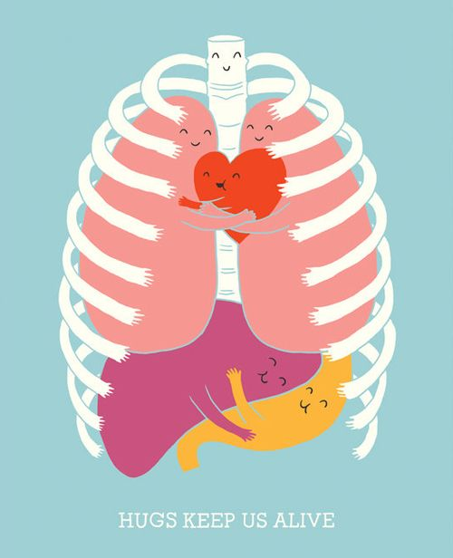 Hugs keep us alive.
