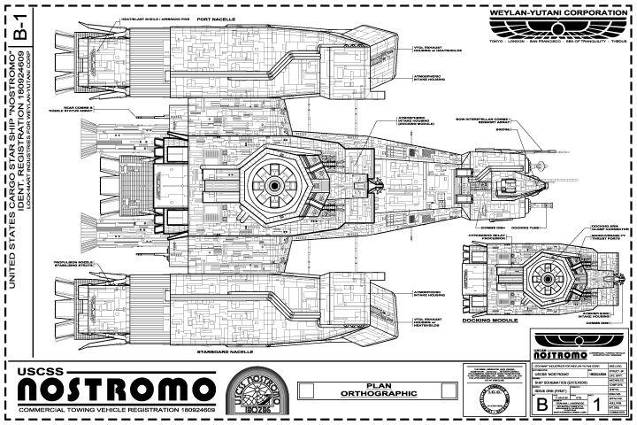 Nostromo Geek Box Pinterest Aliens Search And