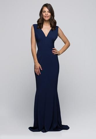 Persephone Gown - China Blue