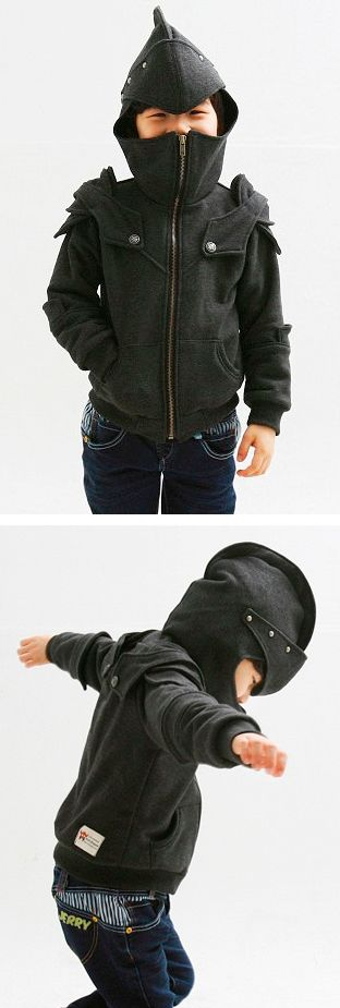 @Jackie Godbold Godbold Darrough, I know a little boy who needs these!! Little Knight Hoodie - so cute!