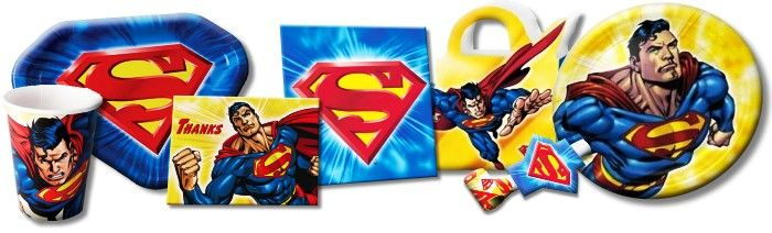 Superman Party Supplies from www.hardtofindpartysupplies.com