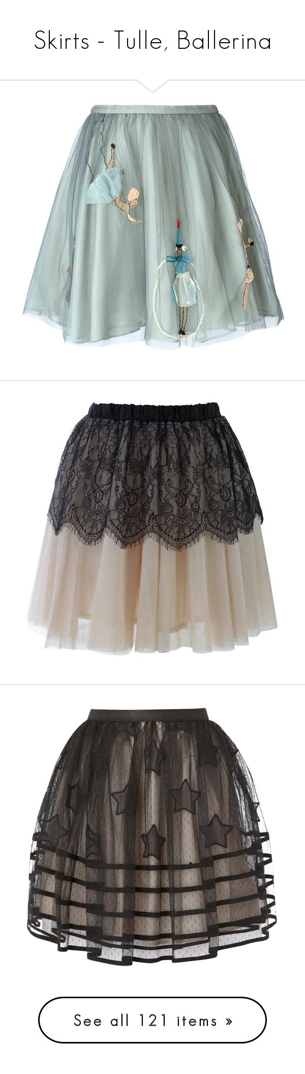 """""""Skirts - Tulle, Ballerina"""" by giovanna1995 ❤ liked on Polyvore featuring skirts, bottoms, saias, gonne, green, red valentino skirt, red valentino, embroidered skirt, green skirt and tulle skirts"""