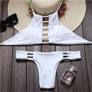 You know you want me, Just BUY me already. Item Type: Bikinis Set Pattern Type: Plain Waist: Low Waist Gender: Women Brand Name: None Material: Polyester Material: Spandex Material: Acrylic Support Ty