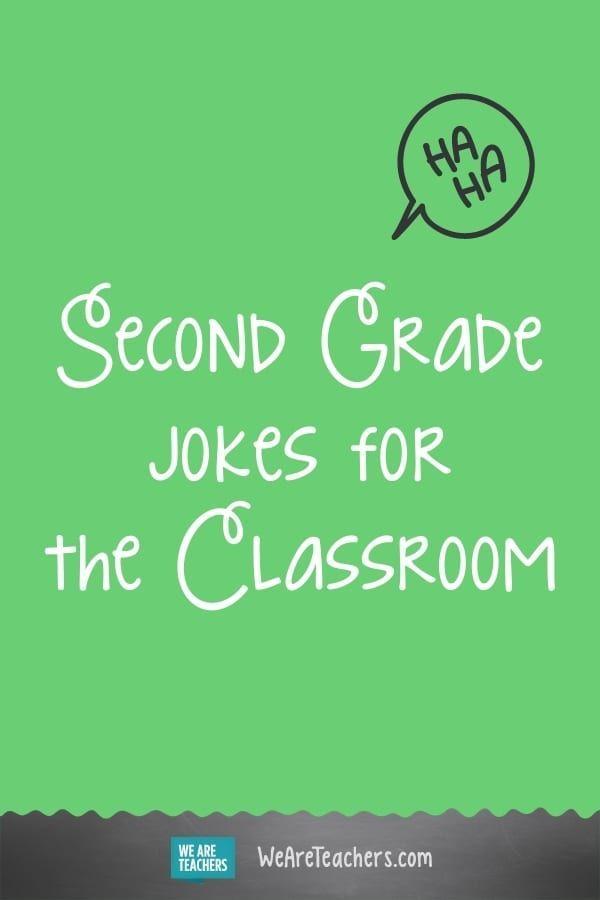 25 Fun Second Grade Jokes To Start The Day In 2020 Jokes Second Grade Teacher Humor