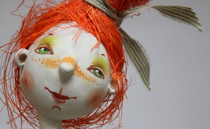 Девчушка с рыжими волосами,фрагмент | by Докучаева