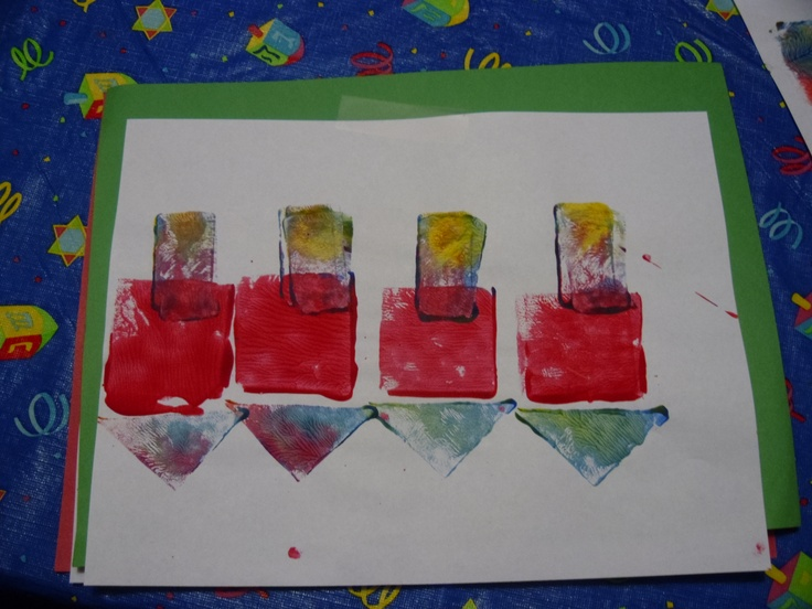 485 best images about projects for preschool class on for Menorah arts and crafts