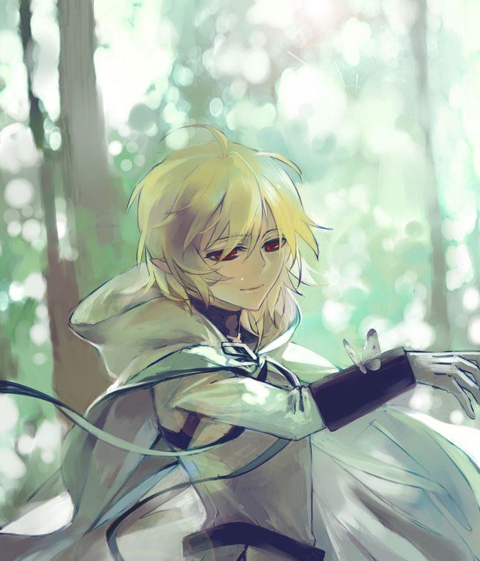 1 Anime Character : Owari no seraph hyakuya mikaela mika by 言一行 on pixiv