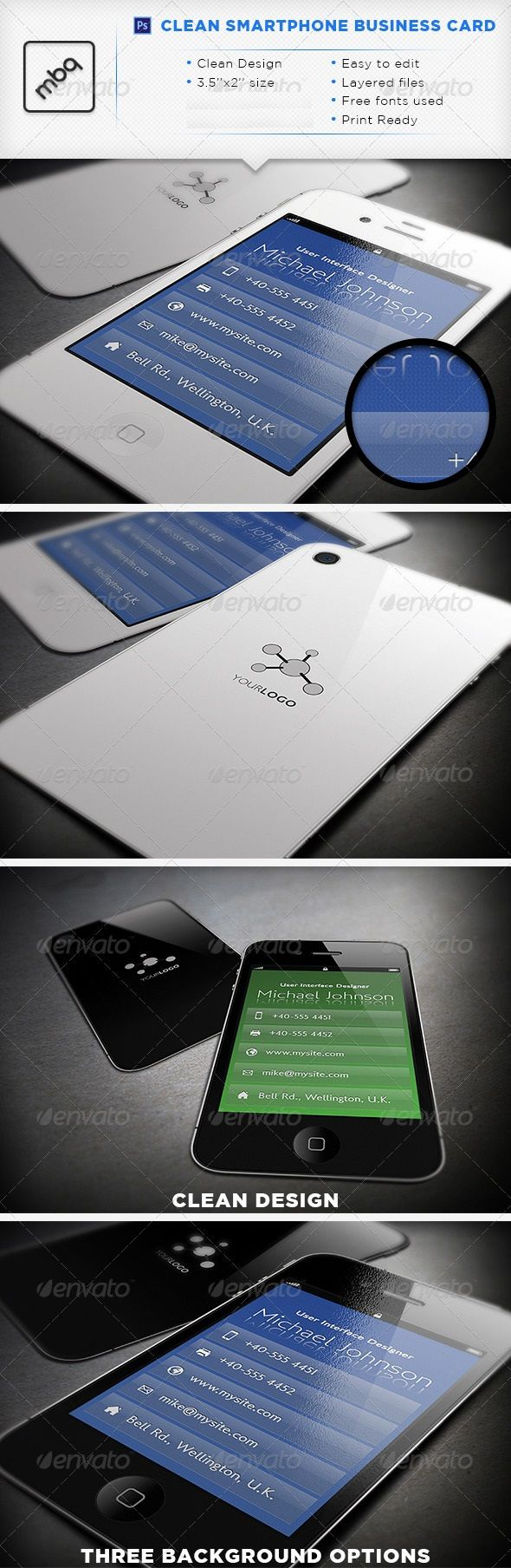 29 best business cards images on pinterest print templates clean smartphone business card get it customized as per your needs in only 1567 http reheart Gallery