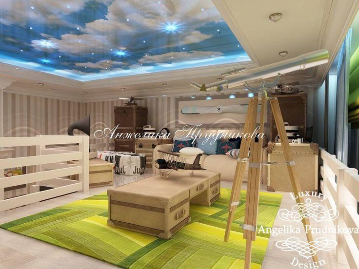 Дизайн-проект дома в стиле арт-деко в КП «Горки-2» - фото