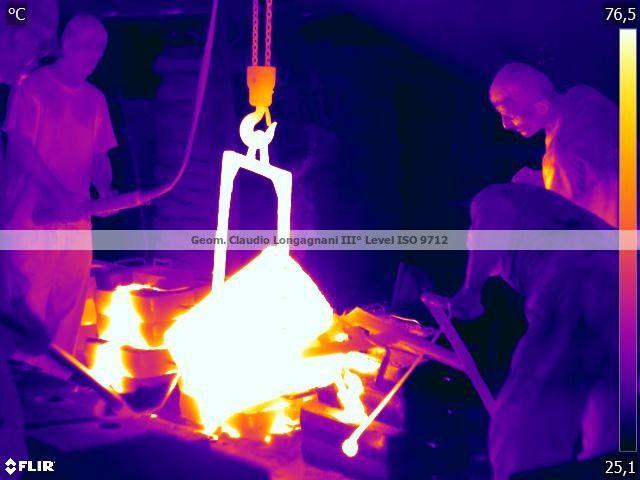 Termografia: Gli uomini che fanno l'acciaio