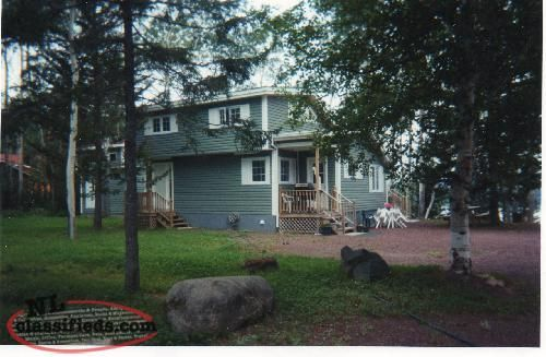 Cottage For Sale 230' waterfront