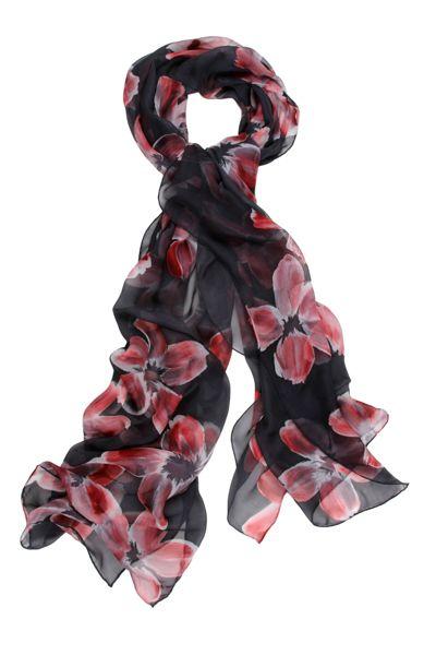 S20012 LOVELY 100% SILK SCARVE HAND PAINTED #Scarf #scarves #silk #silkscarves #womenscarves #Giftidea