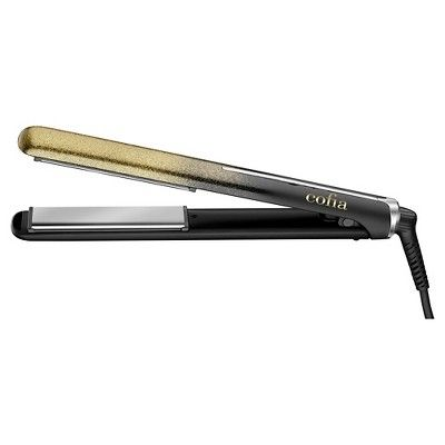 Conair Titanium-Coated Professional Flat Iron 1, Black
