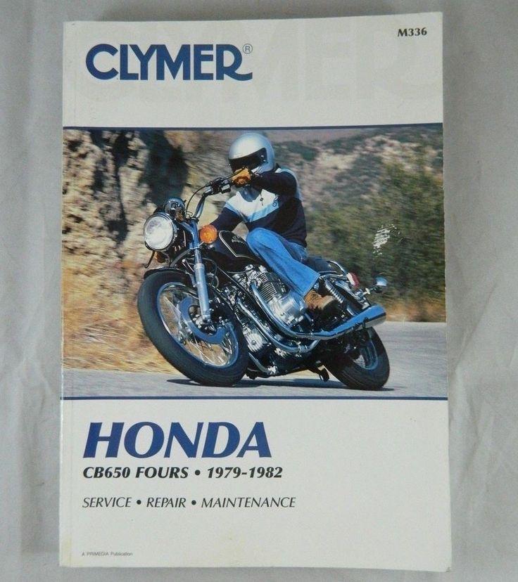 Honda CB650 Fours 1979-82 Shop Manual Motorcycle Repair (2004 Paperback Reprint)