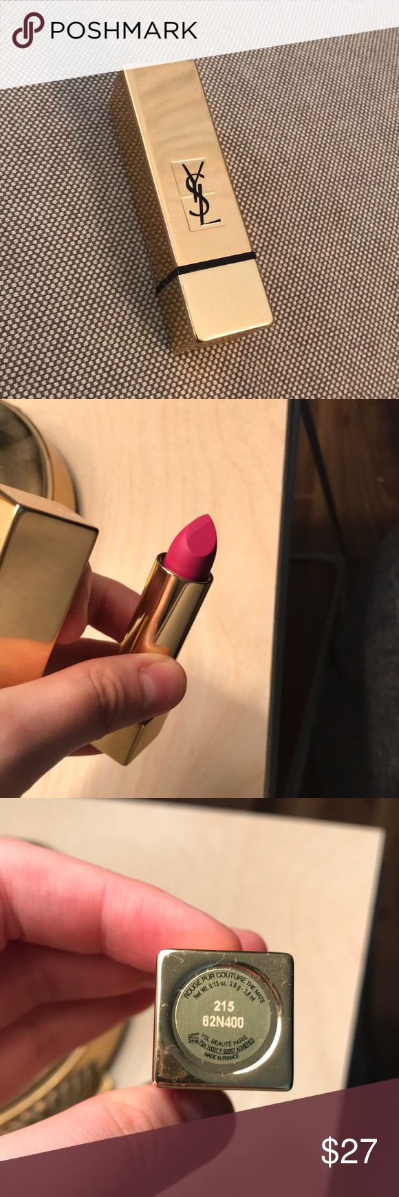 YSL lipstick Ysl lipstick, Lipstick, Yves saint laurent