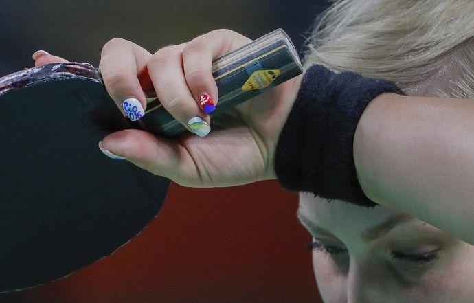Barbora Balaova; Eslováquia; Olimpíadas; tênis de mesa (Foto: Erik S…