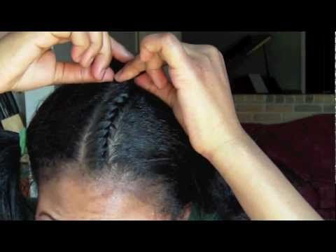 EASIEST WAY TO FLAT TWIST EVER TUTORIAL - YouTube