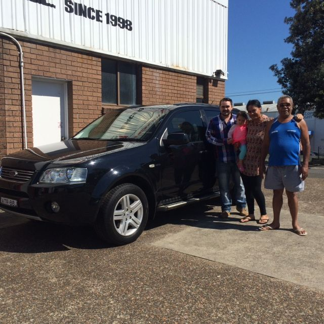 Matt and his family picked up this great value Ford Territory Ghia today. Thanks for visiting Motor Vehicle Wholesale Dot Com