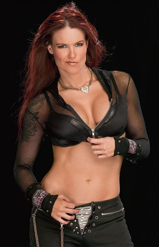 wwe lita naked butt