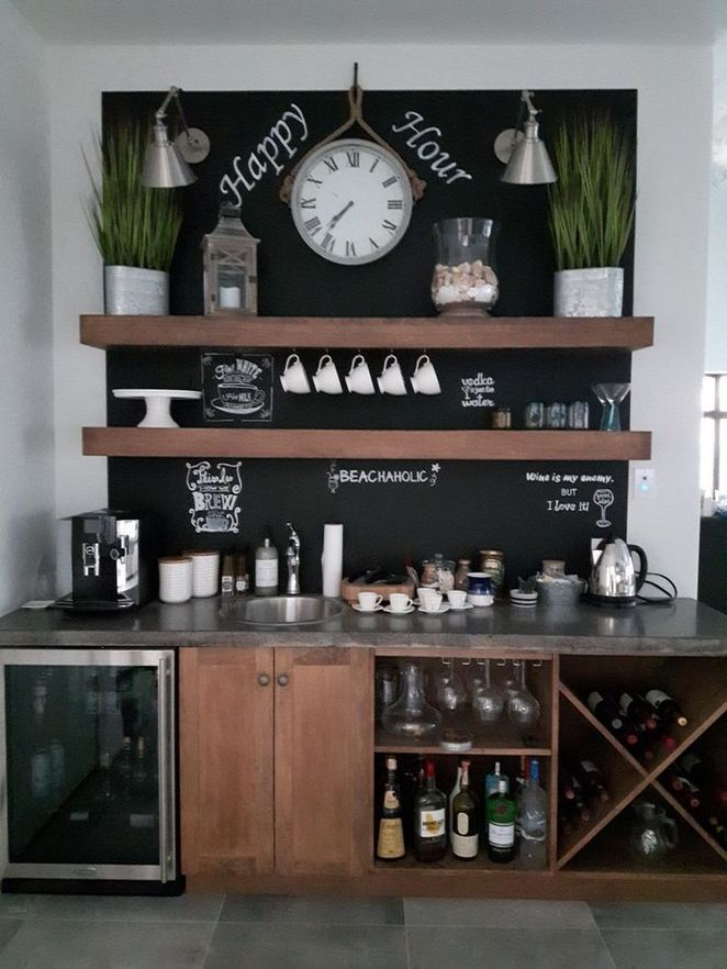 Tiny Craftsman Comes With Espresso Station: +22 Secret Techniques For Coffee Bar In Kitchen Small