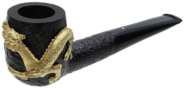 English Estate Dunhill Gold Dragon Shell Briar (4) (Diamond Eyes) (2001) (Unsmoked)