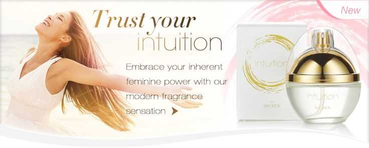 Our new modern Intuition fragrance explodes with gorgeous florals and sensuous spices that exude femininity and evoke natural confidence. #musthave