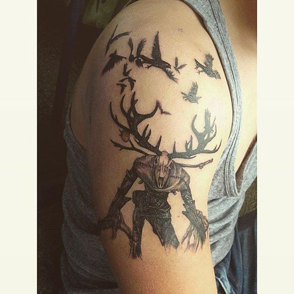 Witcher tattoos! If you have one, email it to tattoos@cdprojektred.com.