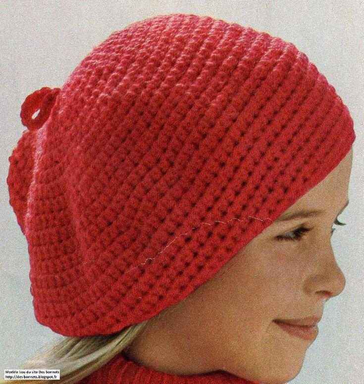 Blog de tricot avec d'anciens modèles, des modèles vintages de bonnet, bérets, chapeaux, cagoules, pour se protéger la tête du froid ou du chaud.