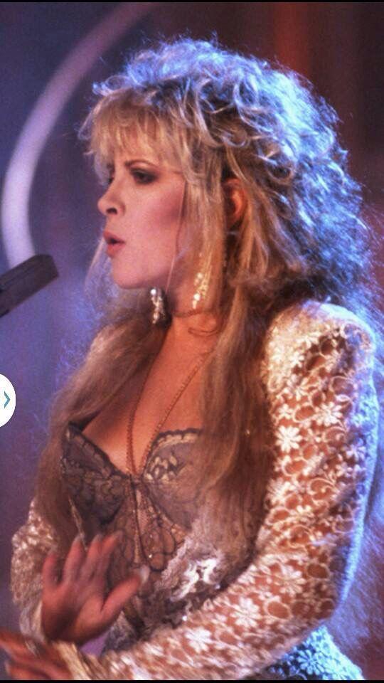 Stevie's 80's look