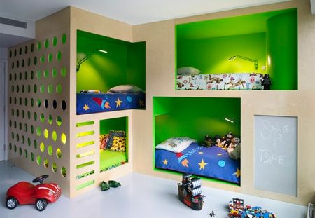 Practical designs for a boys bedroom for shared bedroom