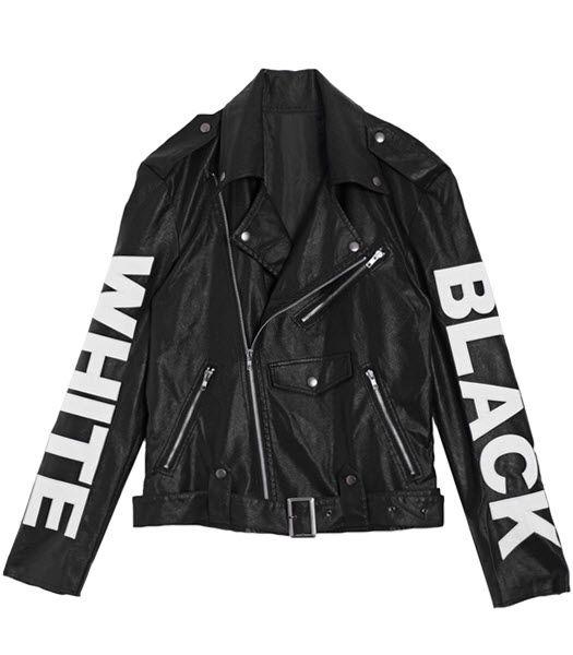 Skinnjacka - Black And White - Skinnjackor - Jackor & Kavajer - Dam - Modekungen - Mode online | Kläder, Skor & Accessoarer
