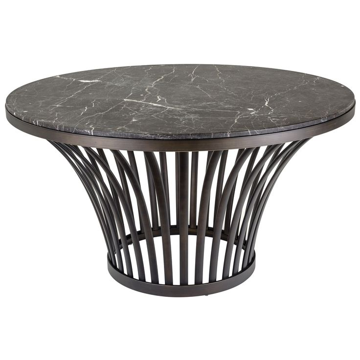 Safavieh Couture High Line Collection Blake Electroplated Stainless Steel (Silver) Marble Top Table (MCR3226A)