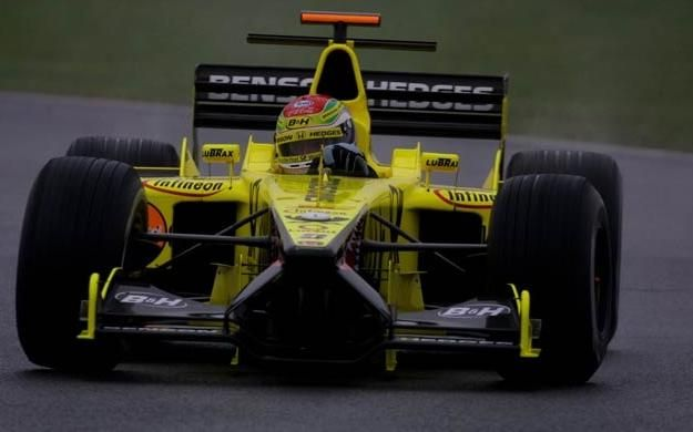 Justin Wilson Jordan Test Silverstone 2001