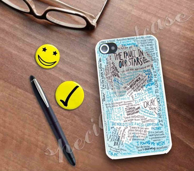 The fault in our stars quoets Case for ne by Specialheartcase, $14.99